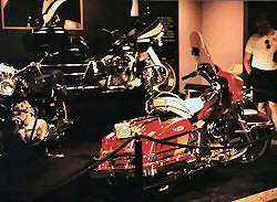 Elvis' Harleys