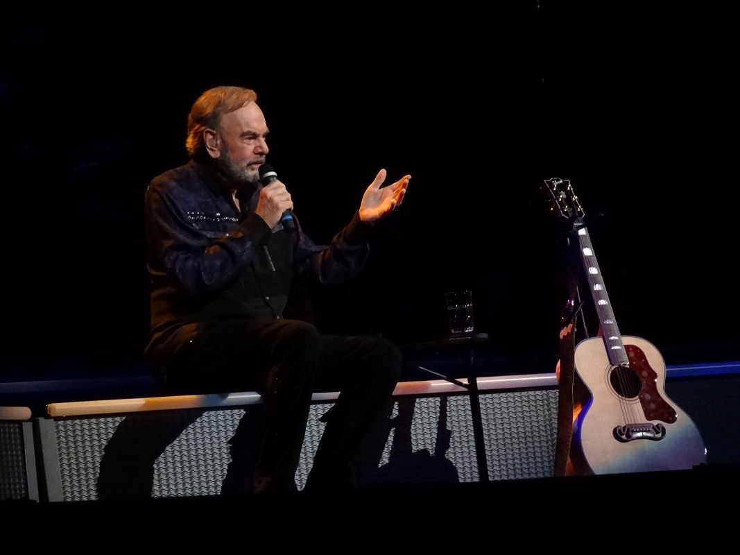 Neil Diamond at Key Arena, Seattle, WA 7-26-2017