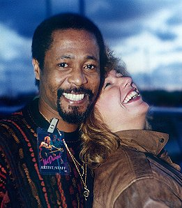 Vince Charles, NDRRT, and fan, Kitty Robinson