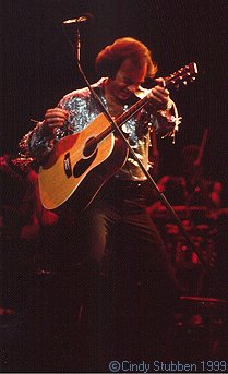 Neil Diamond at Chicago Stadium in 1983