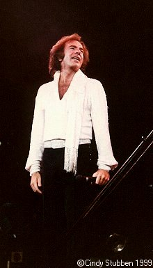 Neil Diamond at Chicago Stadium 1983