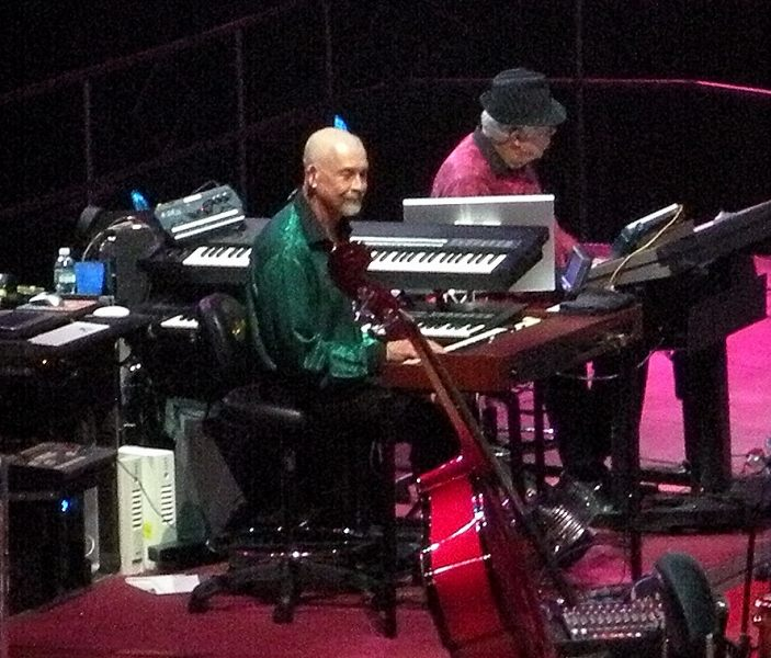 Alan Lindgren, Keyboards AND Tom Hensley, Piano