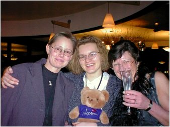 Mona, Sabine, and Heike, from Germany