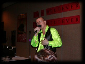 Nick McCullock singing September Morn at The Neil Diamond Birthday Party in Chicago 2004