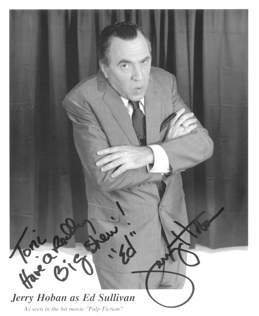 Autographed Photo of Jerry Hoban