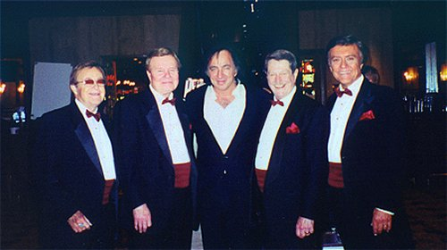 The Jordanaires and Tom Sadge, Las Vegas 4-99
