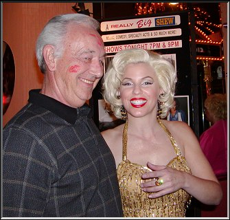 Dennis McLaughlin and Gailyn Addis as Marilyn Monroe...  Photo by Toni McLaughlin