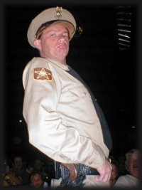 Kenny James as BARNEY FIFE, Memories Theatre, Pigeon Forge, TN 7-16-01