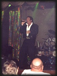 Lou Nelson as TOM JONES, Memories Theatre, Pigeon Forge, TN 7-16-01