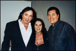 Tom Sadge, Patricia and Englebert Humperdink