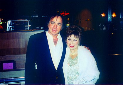 Tom Sadge and Sharon Haynes, Patsy Cline Impersonator 4-99 Las Vegas