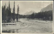 92(a). Goat Mtn and Spray River, Banff.