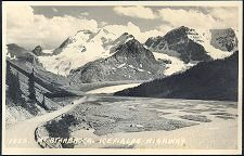 1028. Mt Athabasca. Icefields Highway