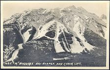 1065(b). Mt Norquay Ski Slopes and Chair Lift.