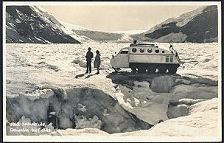 1068(b). Sno-mobile, Columbia Icefields.