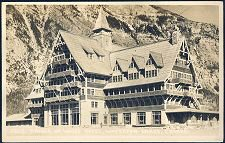 2823. Prince of Wales Hotel, Waterton Lakes, Canada.