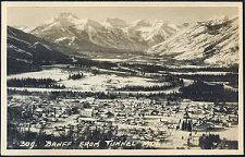 309(d). Banff From Tunnel Mtn.