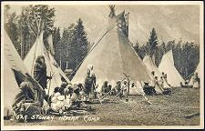 529. Stoney Indian Camp.