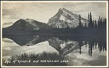 593(b). Mt Rundle and Vermillion Lake.