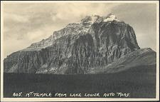 605(b). Mt Temple from Lake Louise Auto Road.