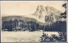724(a). Mt Burgess and Chalet. Emerald Lake.