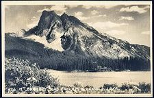 726(a). Mt. Burgess and Chalet. Emerald Lake.