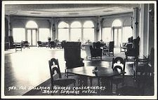 752. The Ballroom Towards Conservatory. Banff Springs Hotel.