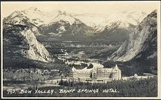 793(b). Bow Valley. Banff Springs Hotel.