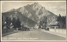 876(a). Banff Ave from Bridge.