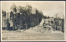 902. Banff Springs Hotel and Club House. From Banff Springs Golf Course