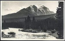931(a). Mt. Temple from Railway.