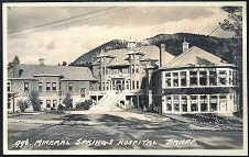 996. Mineral Springs Hospital. Banff.