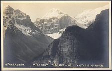Mt Aberdeen. Mt LeFroy. The Beehive. Victoria Glacier.