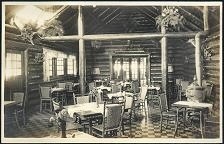 Interior view Lake Louise Trading Co.