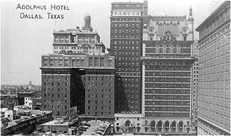 Adolphus Hotel, Dallas, Texas