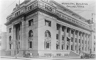 Municipal Building, Dallas, Texas