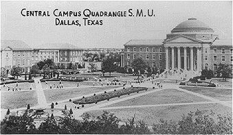 Central Campus Quadrangle S.M.U._Dallas, Texas