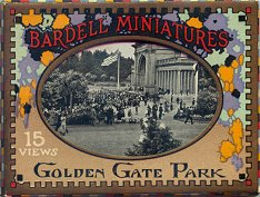 Bardell Miniatures, 15 Views, Golden Gate Park (c)1925