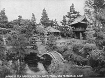 Japanese Tea Garden, Golden Gate Park, San Francisco, Calif.