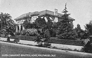 Gloria Swanson's beautiful home, Hollywood, Calif.
