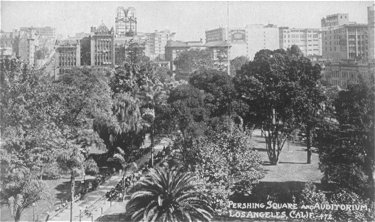 Pershing Square and Auditorium, Los angeles, Calif  #472