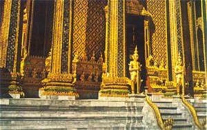 Temple of The Emerald Buddha - Bangkok Thailand
